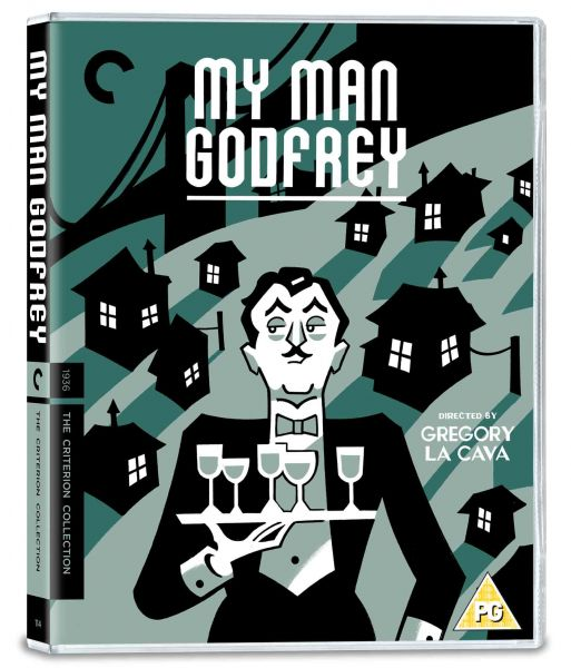 My Man Godfrey Blu-ray pack shot