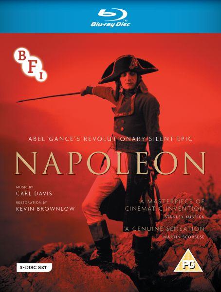 BFI Napoleon Blu-ray cover image