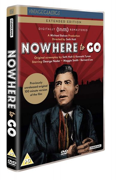 Nowhere To Go DVD pack shot