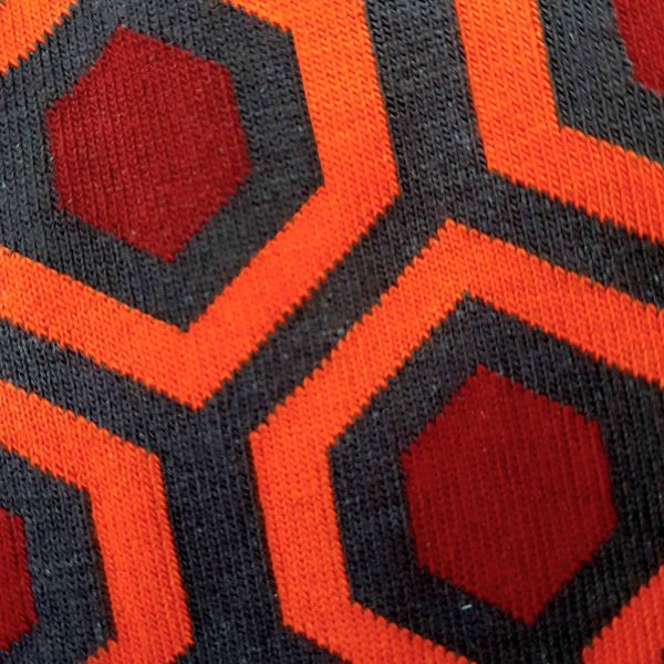 Overlook Hotel Socks detail