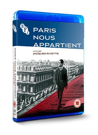 Paris Nous Apartient Blu-ray pack shot