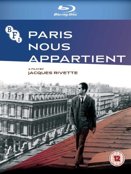 Paris Nous Appartient Blu-ray cover image