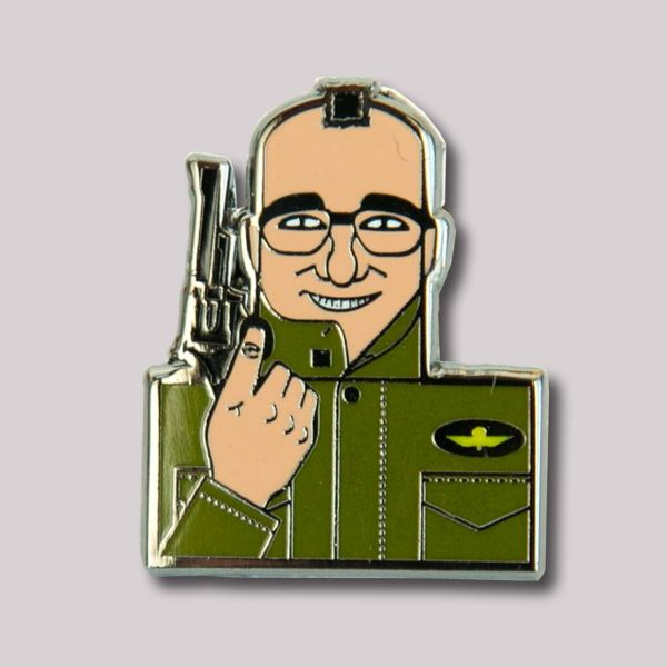 Andy Tuohy Great Directors Pin Badge: Martin Scorsese