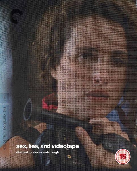 Sex, Lies, and Videotape Blu-ray cover image