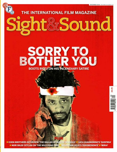 Sight & Sound December 2018 cover