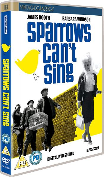 Sparrows Can't Sing DVD pack shot