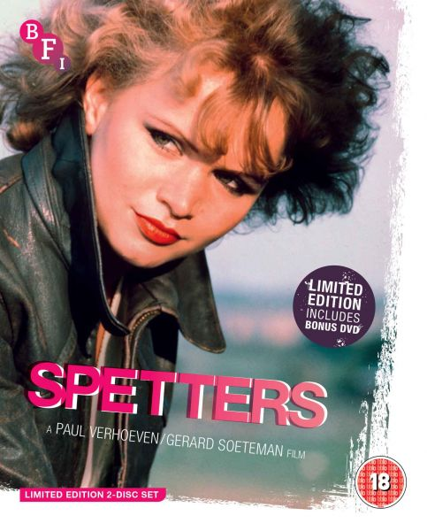 Spetters (Limited Edition 2 disc Blu-ray / DVD set)