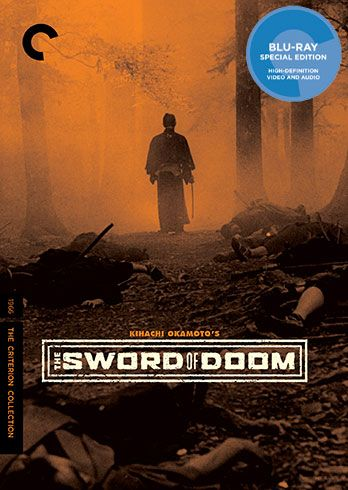 The Sword of Doom Blu-ray cover image