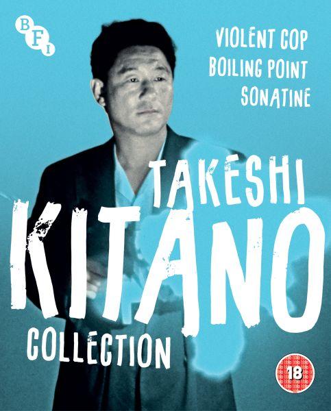 Takeshi Kitano Collection (3-Disc Blu-ray Set)
