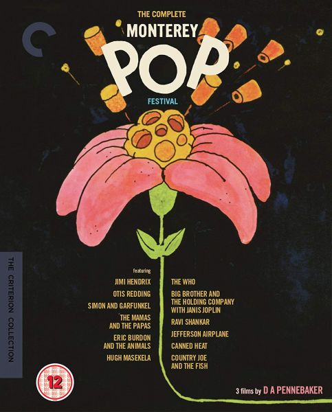 The Complete Monterey Pop Festival Blu-ray
