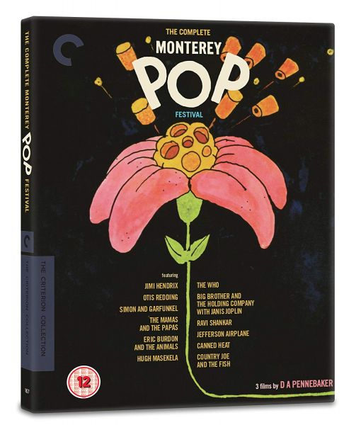 The Complete Monterey Pop Festival Blu-ray pack shot