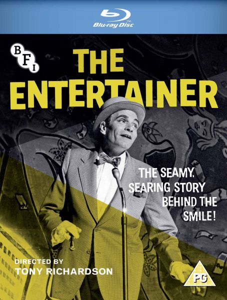The Entertainer Blu-ray