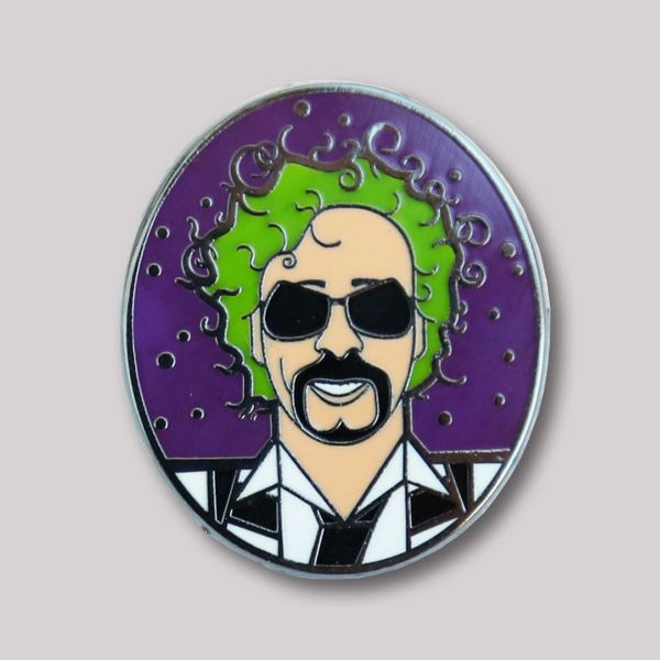 Andy Tuohy Great Directors Pin Badge: Tim Burton