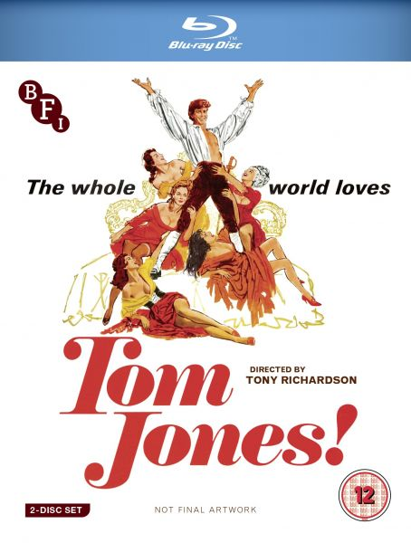 Tom Jones Blu-ray cover image