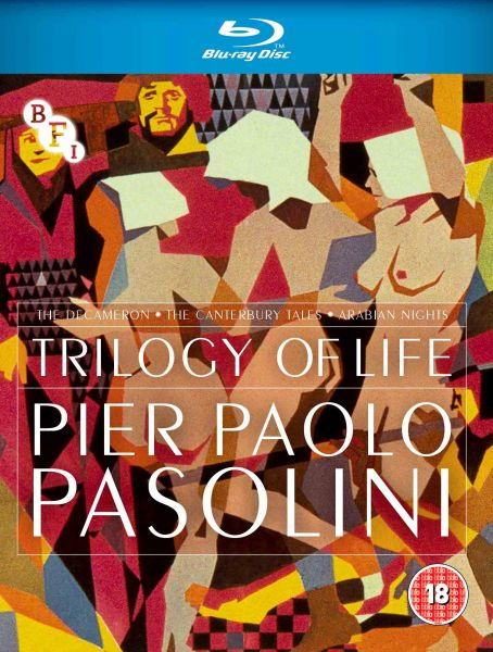 PRE-ORDER Trilogy of Life (3-Disc Blu-ray Set)