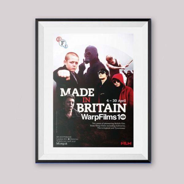 Made in Britain: Warp Films BFI season poster