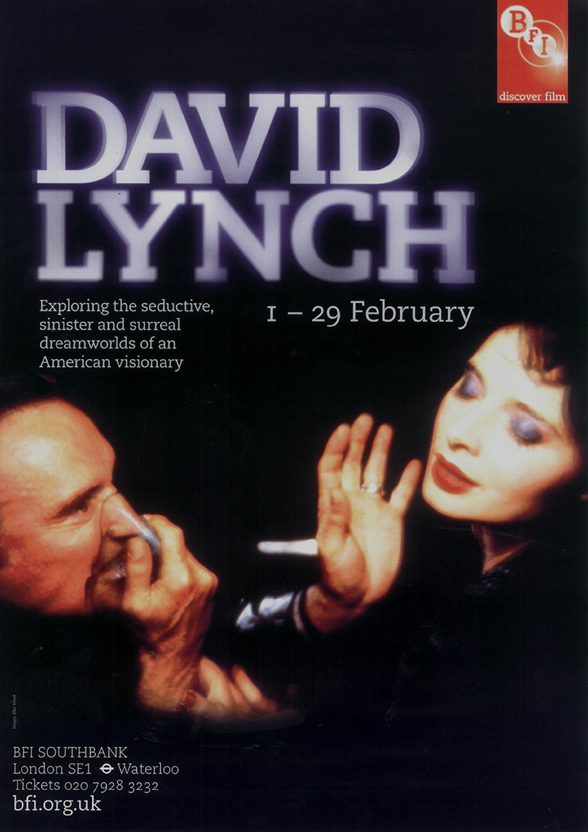 Buy David Lynch BFI season poster