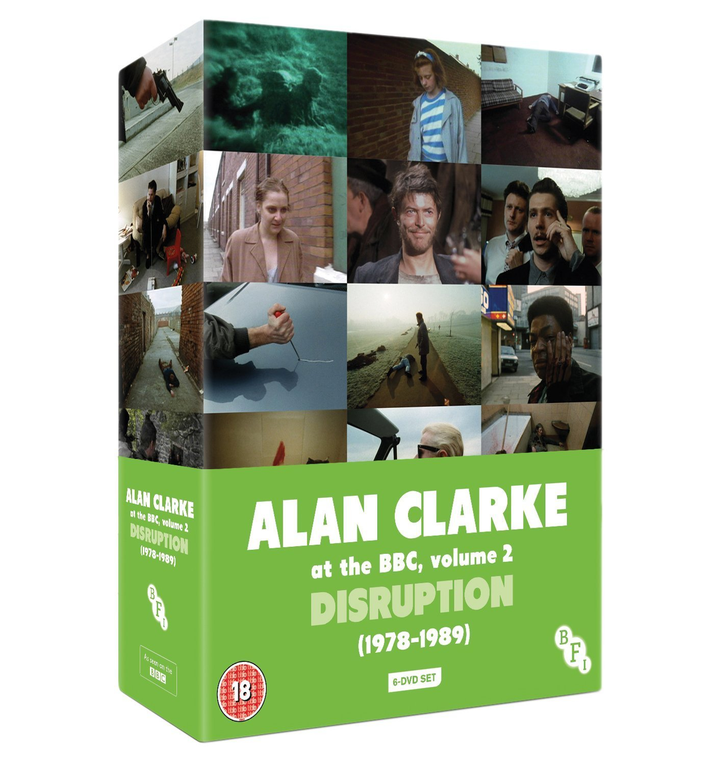Buy Alan Clarke at the BBC, Volume 2: Disruption (1978-1989) (6-DVD Box Set)