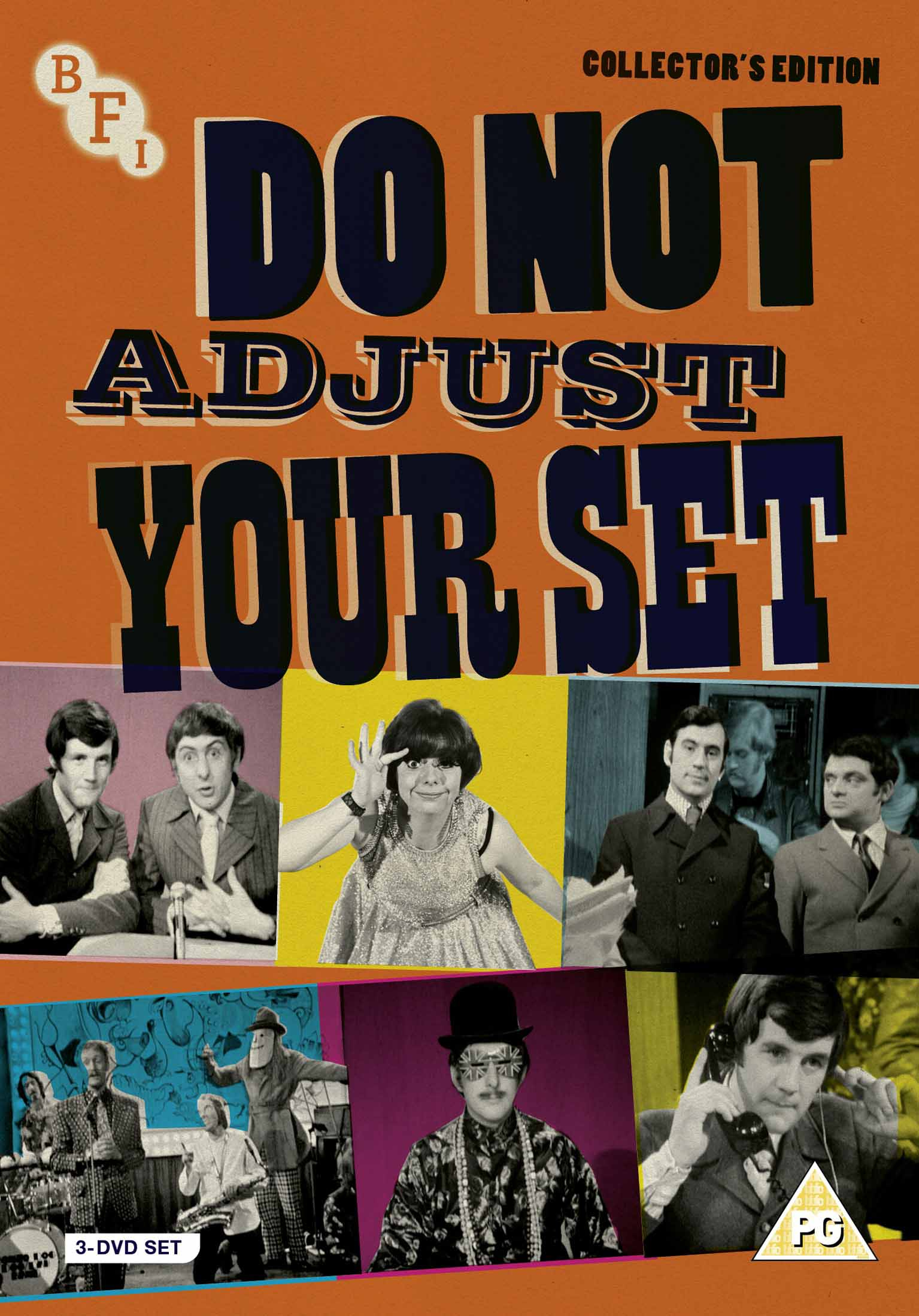 Buy PRE-ORDER Do Not Adjust Your Set (3-Disc DVD Set)