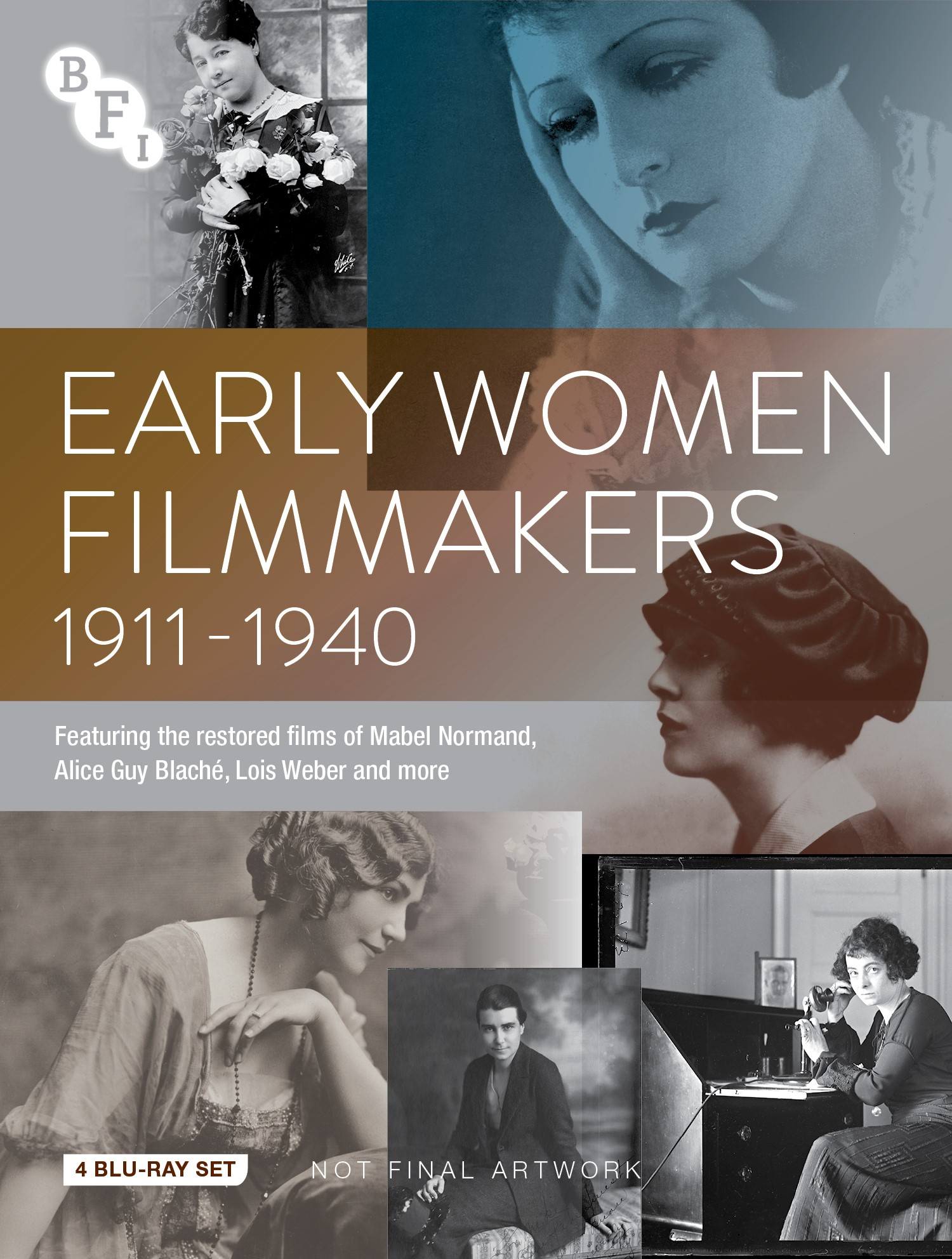 Buy PRE-ORDER Early Women Filmmakers Collection (4 Blu-ray Set)