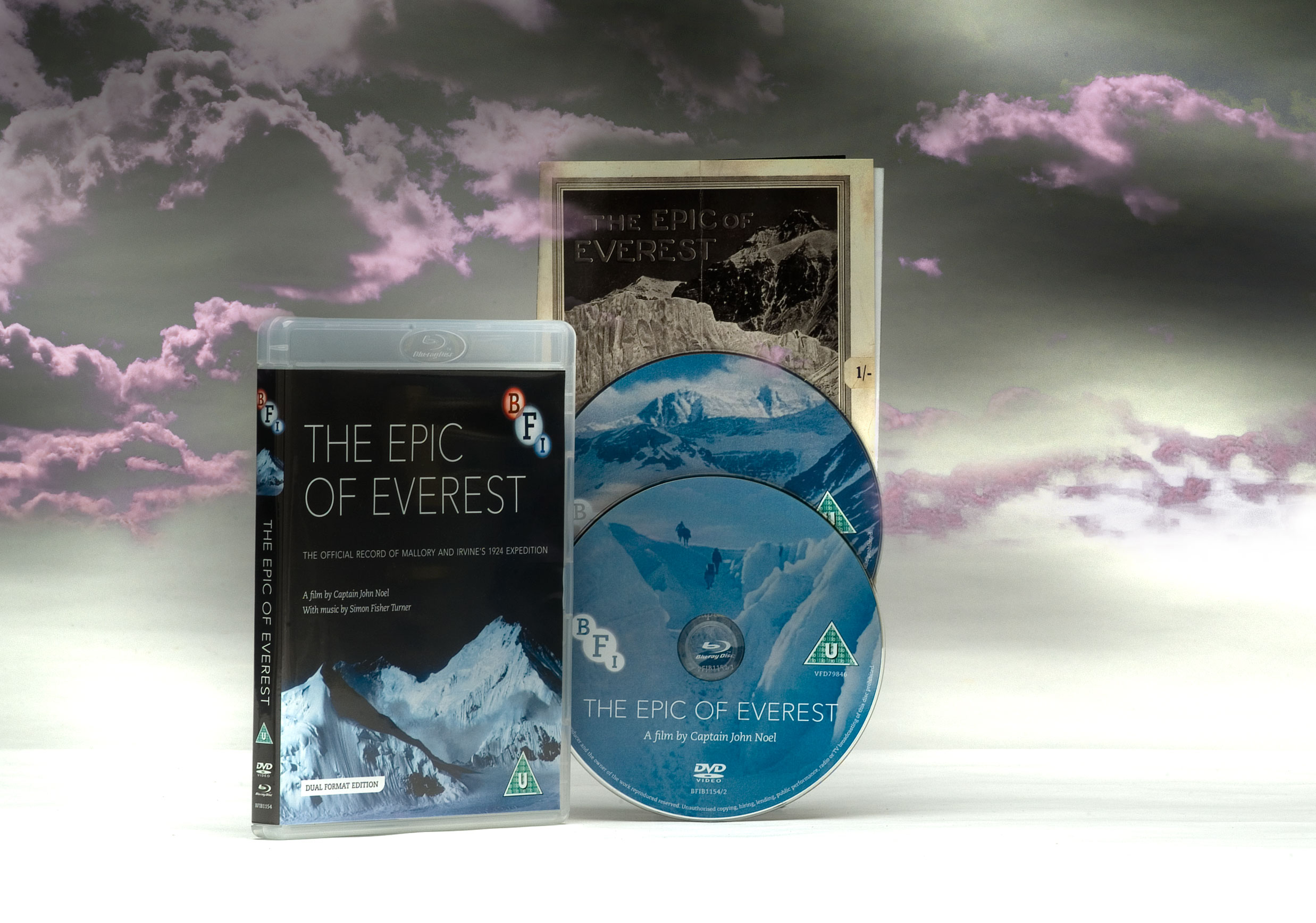 Buy The Epic of Everest (Dual Format Edition)