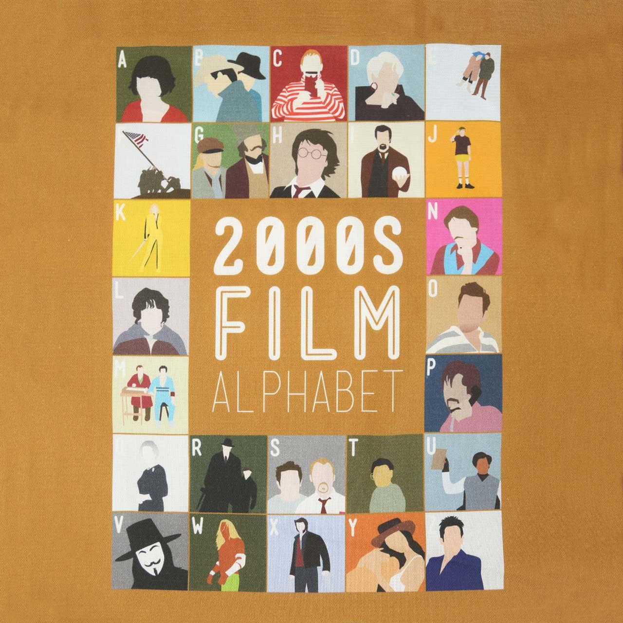 Buy Film Alphabet Tote Bag: 2000s
