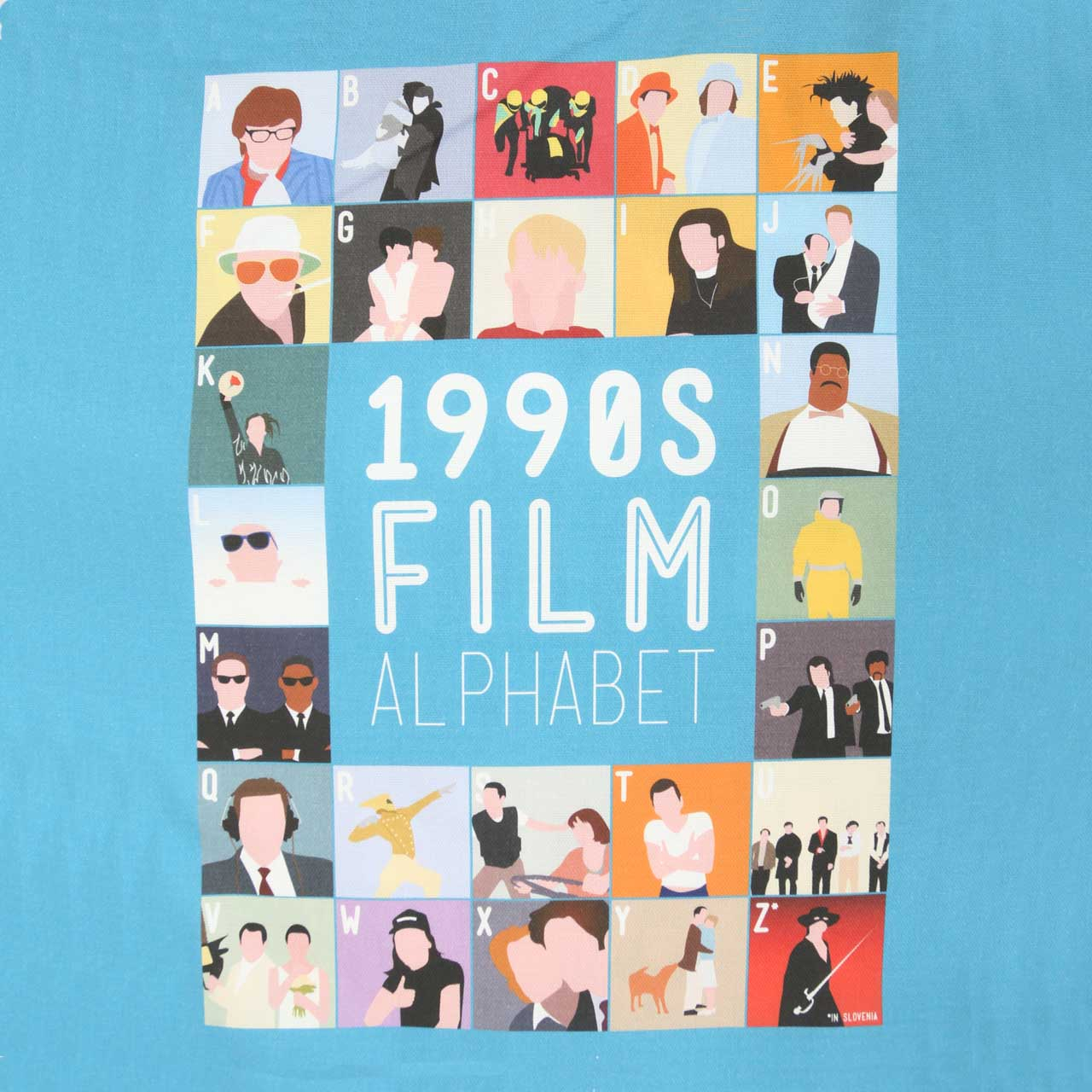 Buy Film Alphabet Tote Bag: 1990s