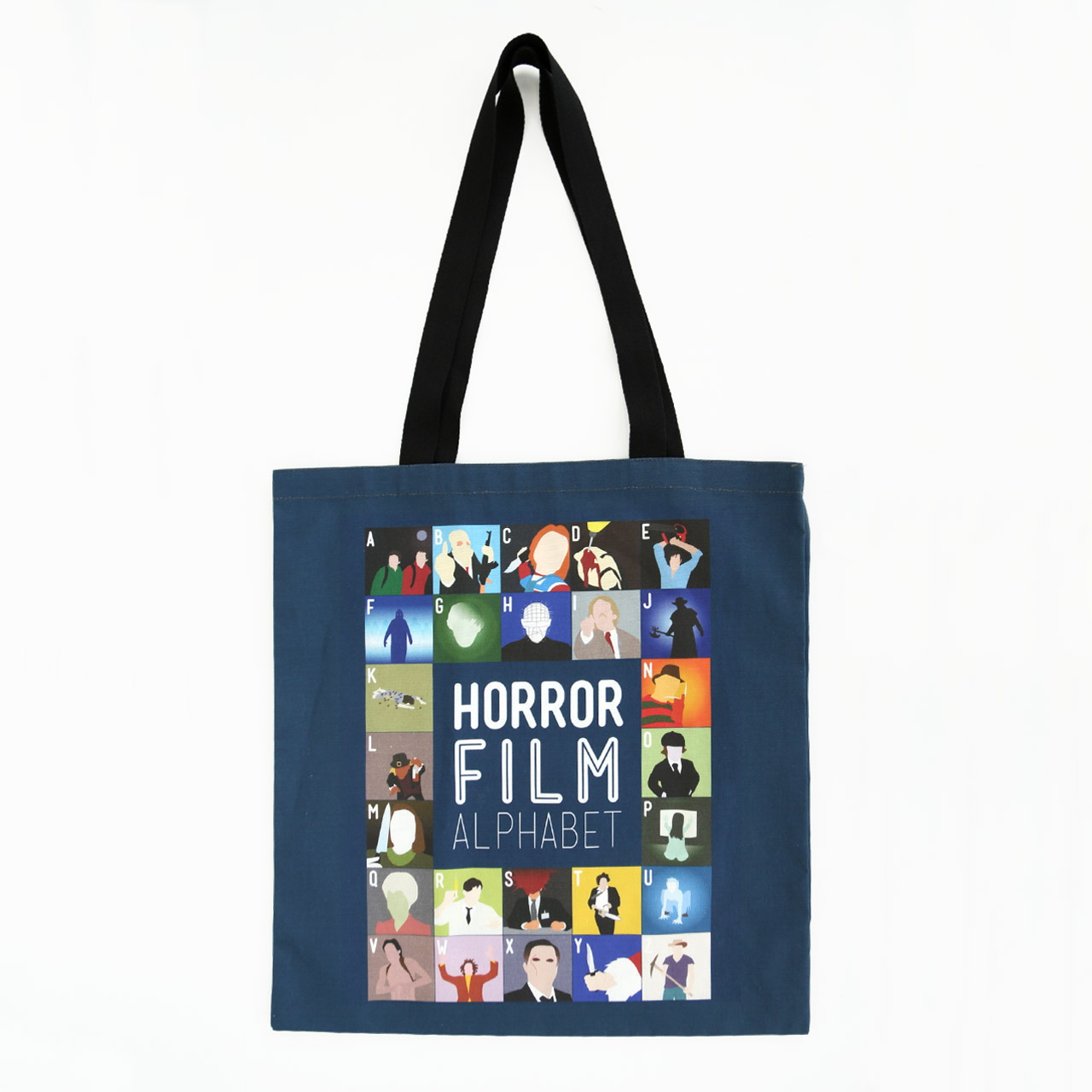 Buy Film Alphabet Tote Bag: Sci-Fi