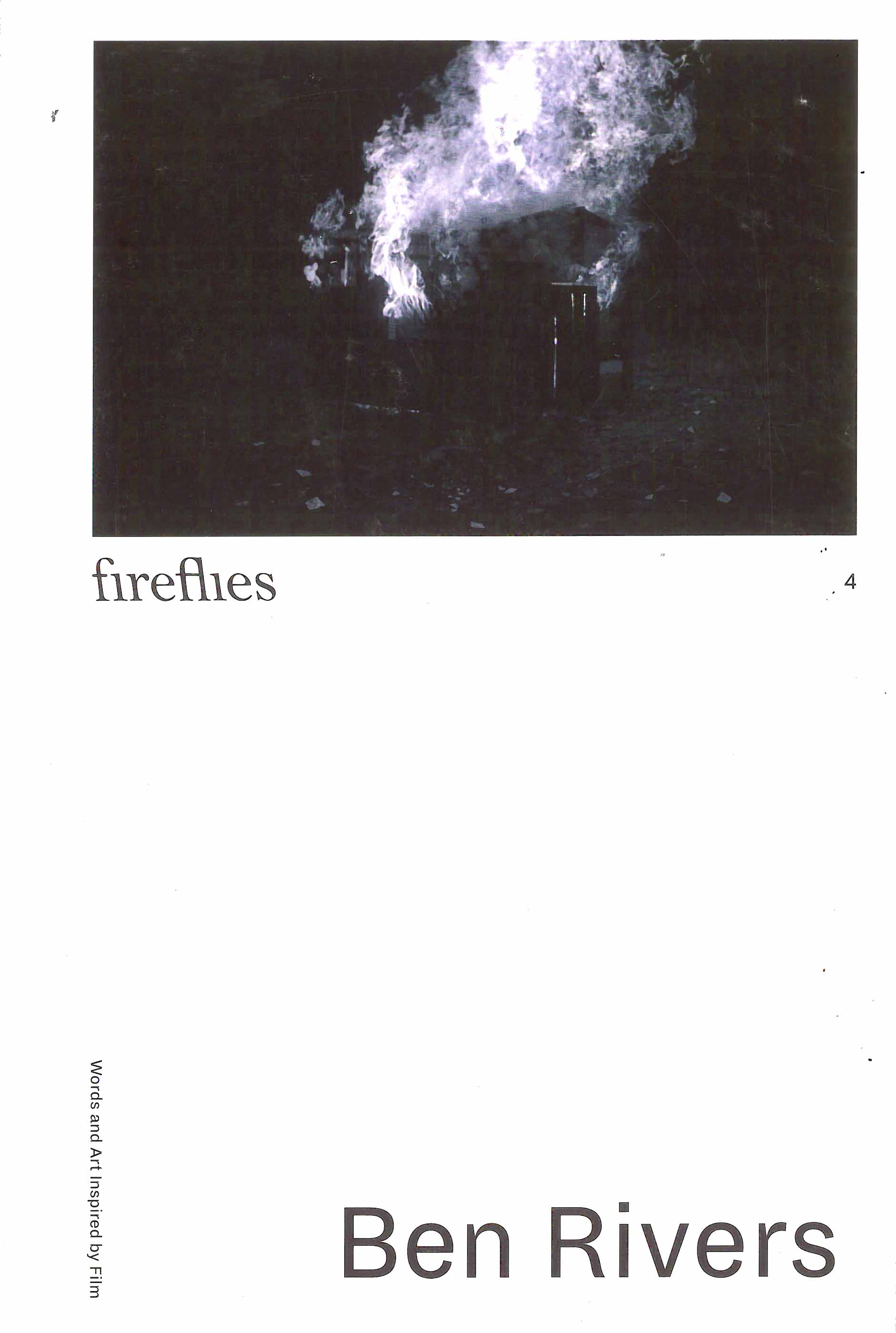 Buy Fireflies Issue 4 - Ben Rivers / Pedro Costa