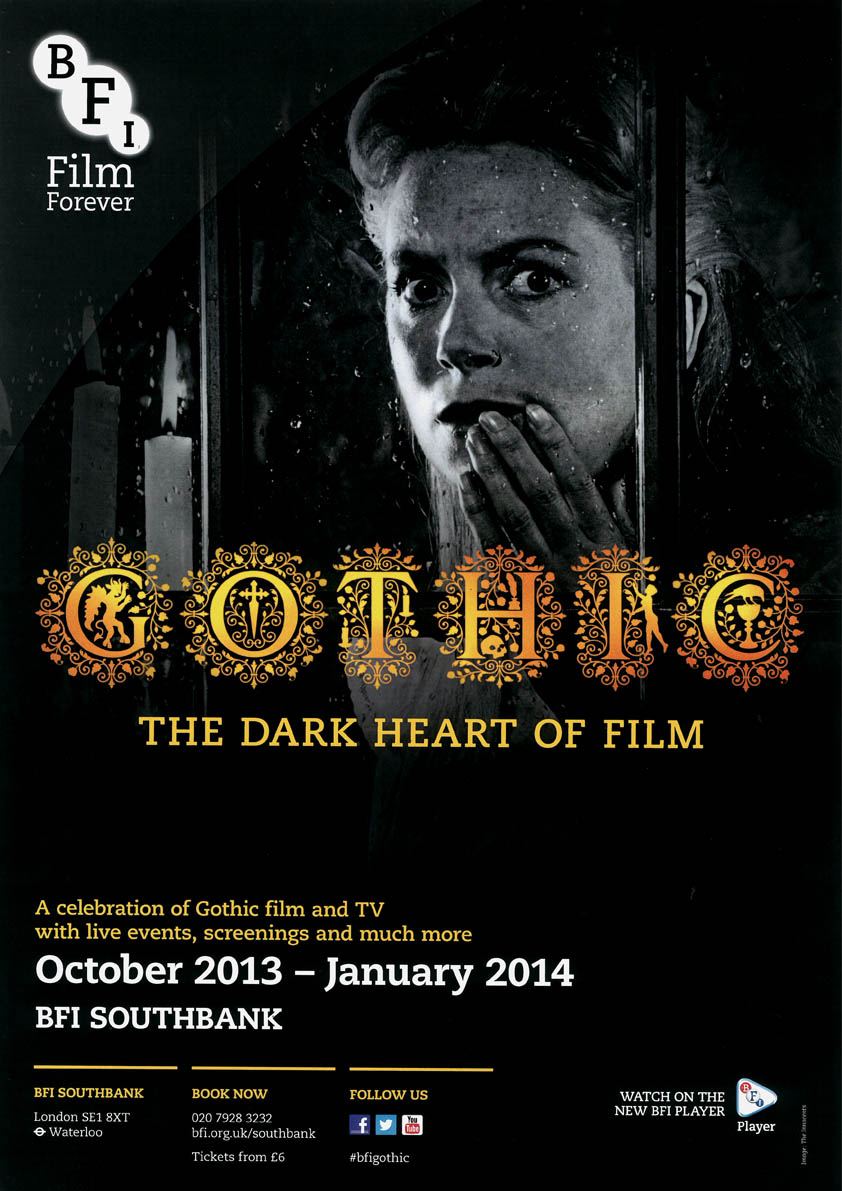 Buy Gothic BFI season poster