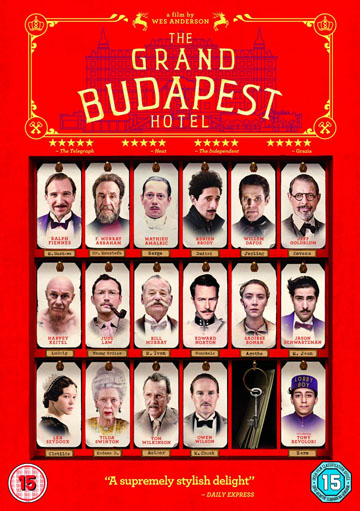 Buy The Grand Budapest Hotel