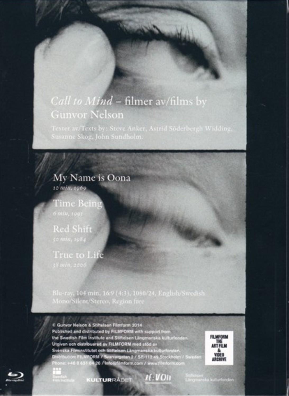 Buy Call to Mind: filmer av / films by Gunvor Nelson (Blu-ray)