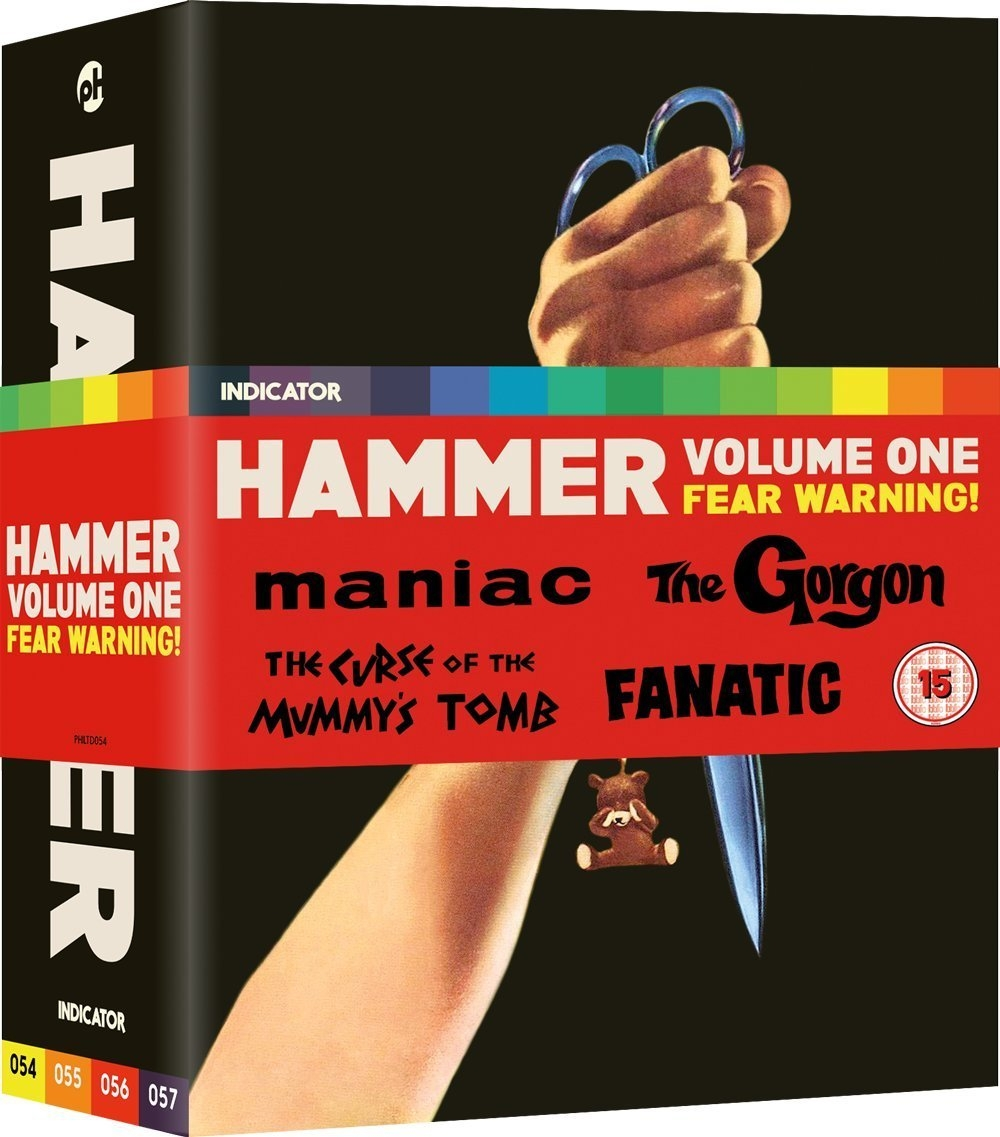 Buy Hammer: Volume One - Fear Warning! (Blu-ray Box Set)