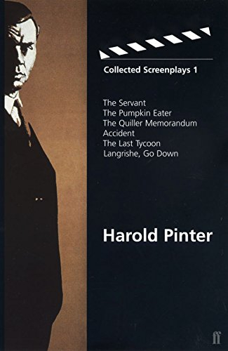 Buy Harold Pinter: Collected Screenplays 1