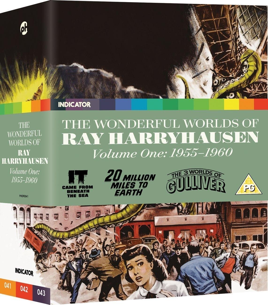 Buy The Wonderful Worlds of Ray Harryhausen: Volume One - 1955-1960