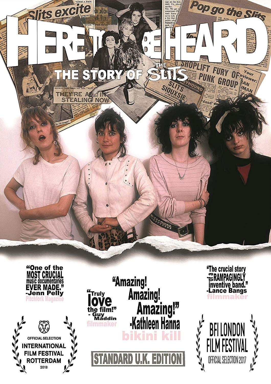Buy Here To Be Heard: The Story Of The Slits