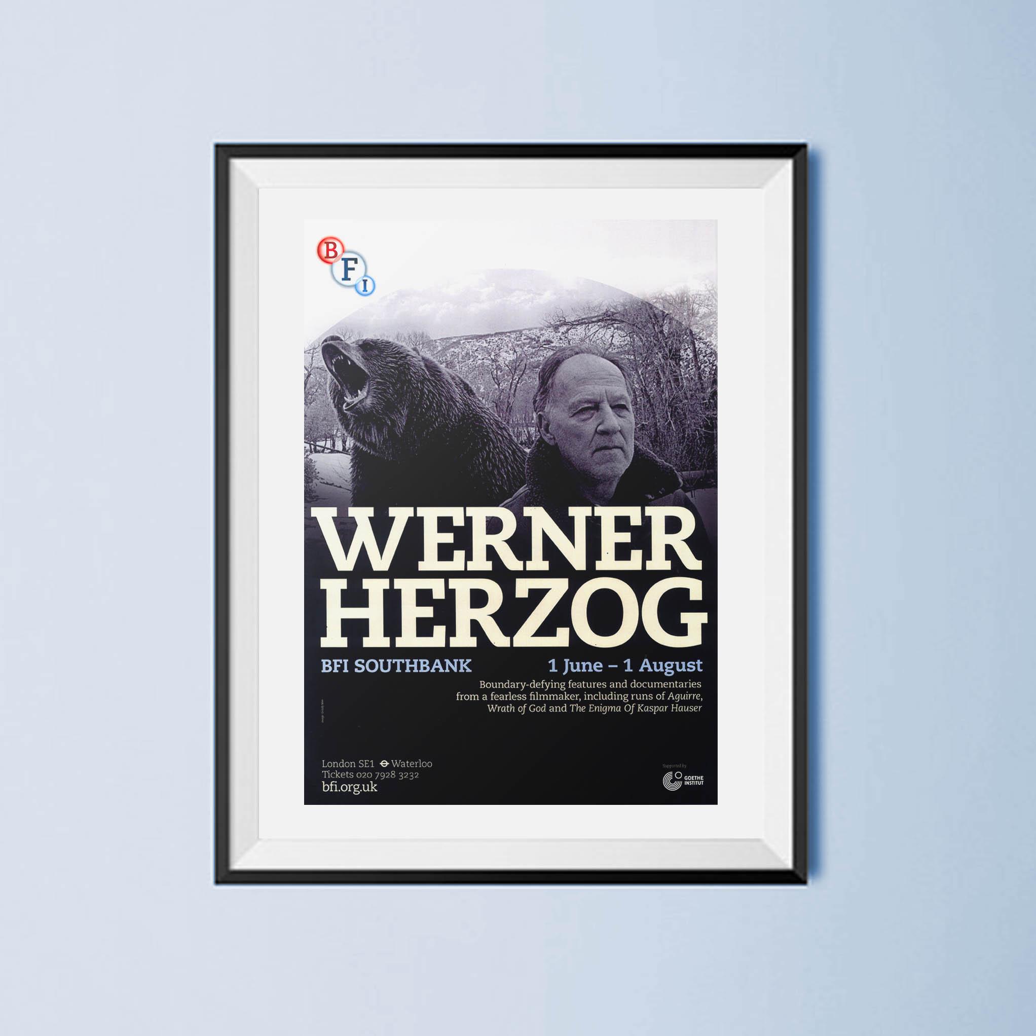 Buy Werner Herzog BFI season poster