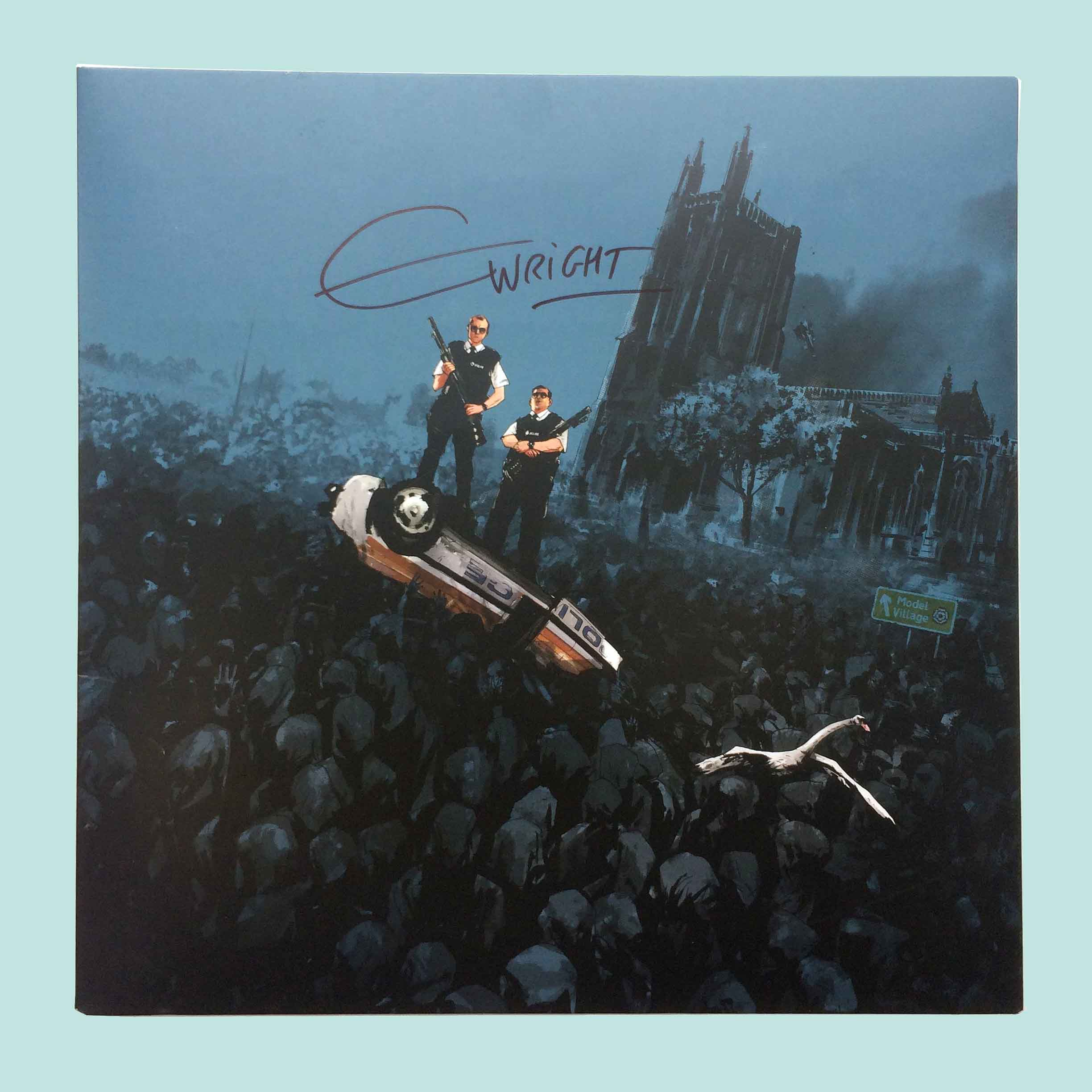 Buy Hot Fuzz (Soundtrack Vinyl LP) SIGNED COPY