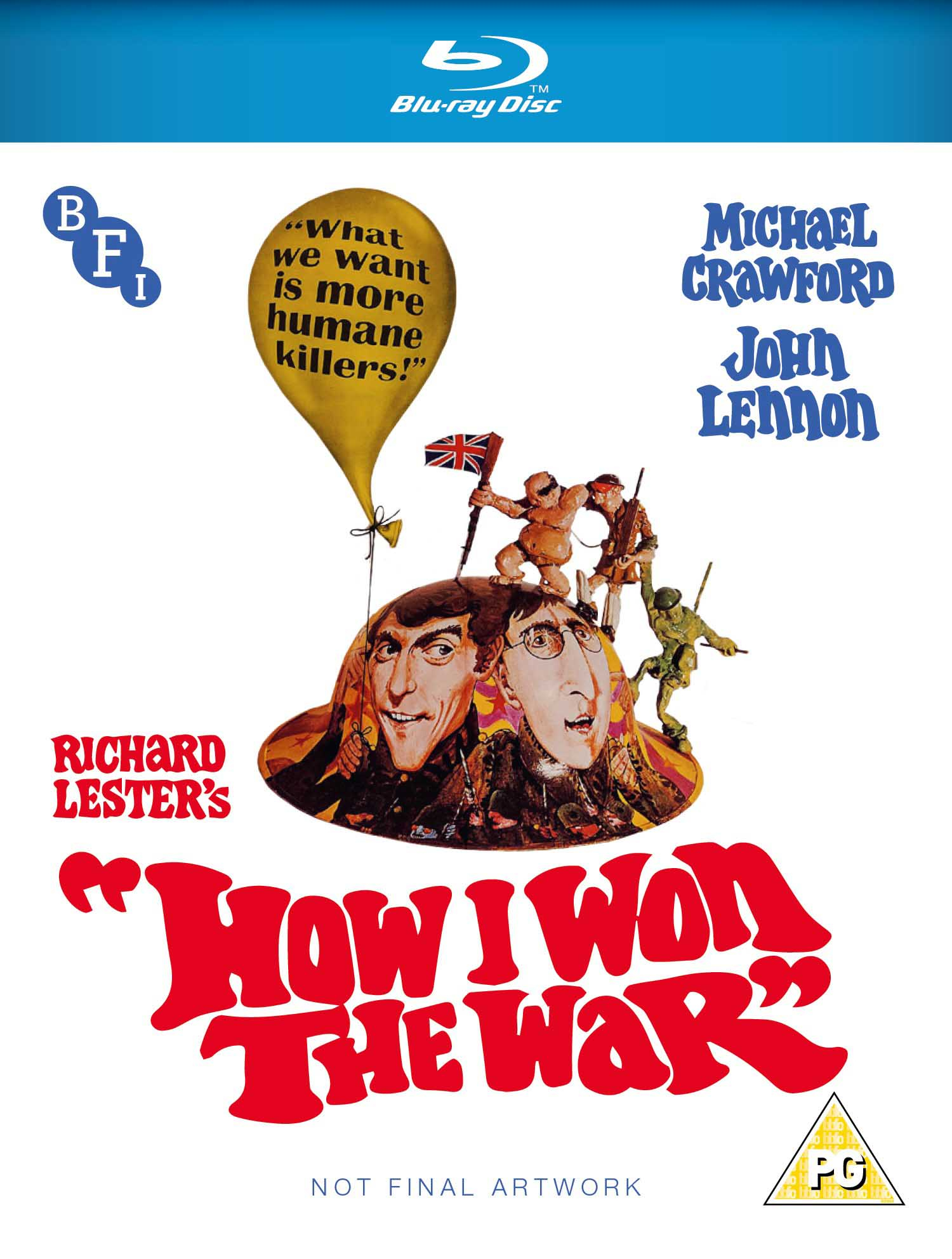 Buy PRE-ORDER How I Won the War (Blu-ray)