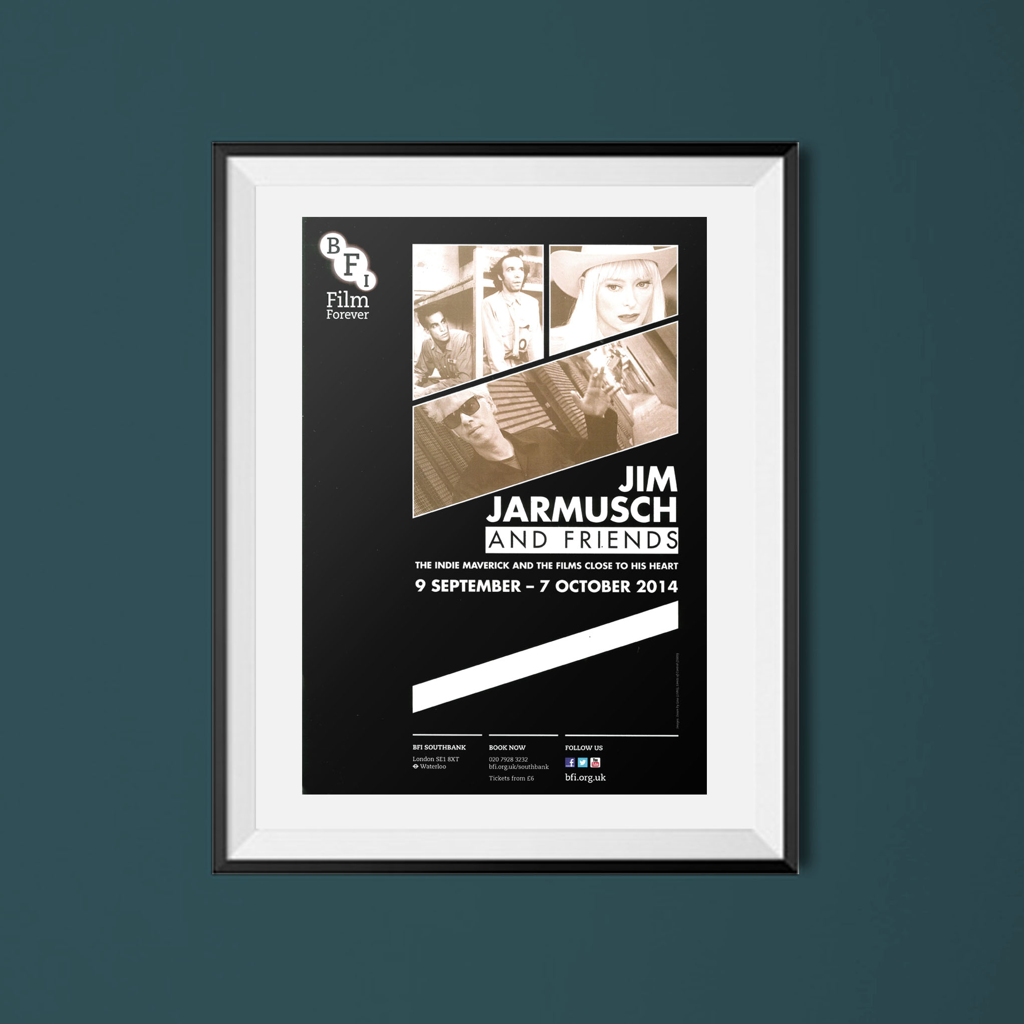 Buy Jim Jarmusch BFI season poster