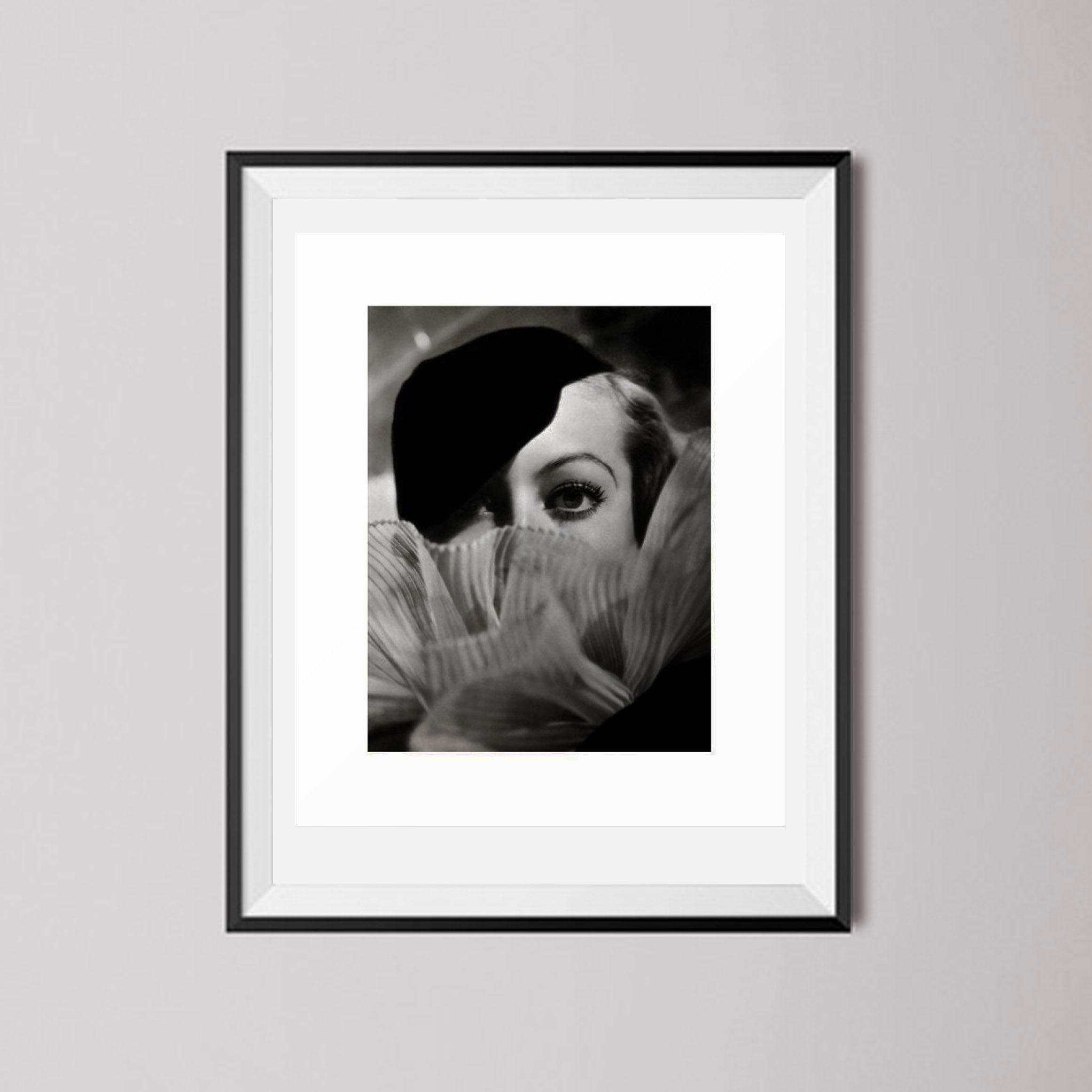 Buy Joan Crawford with Ruffles Art Print