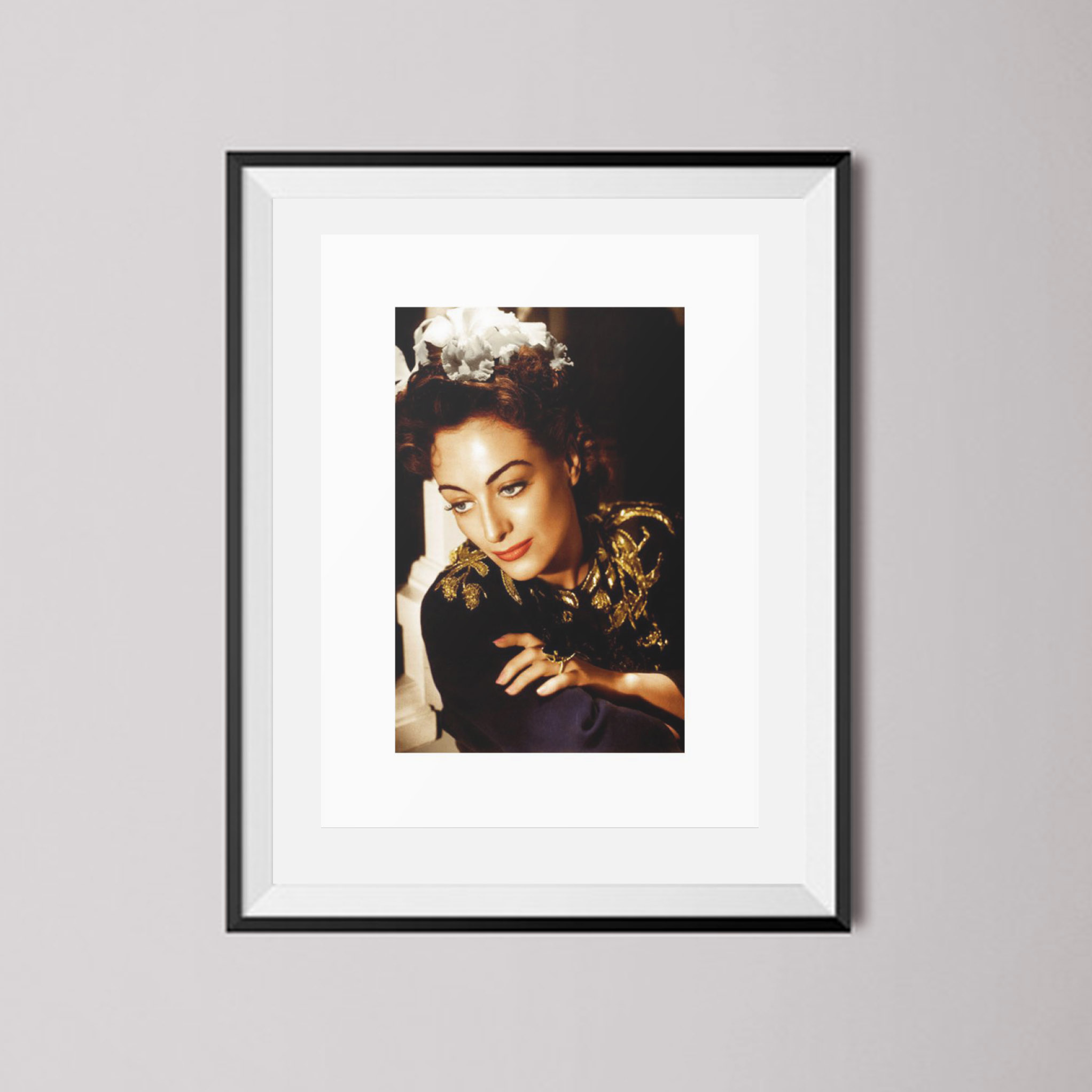 Buy Joan Crawford Full Colour Art Print