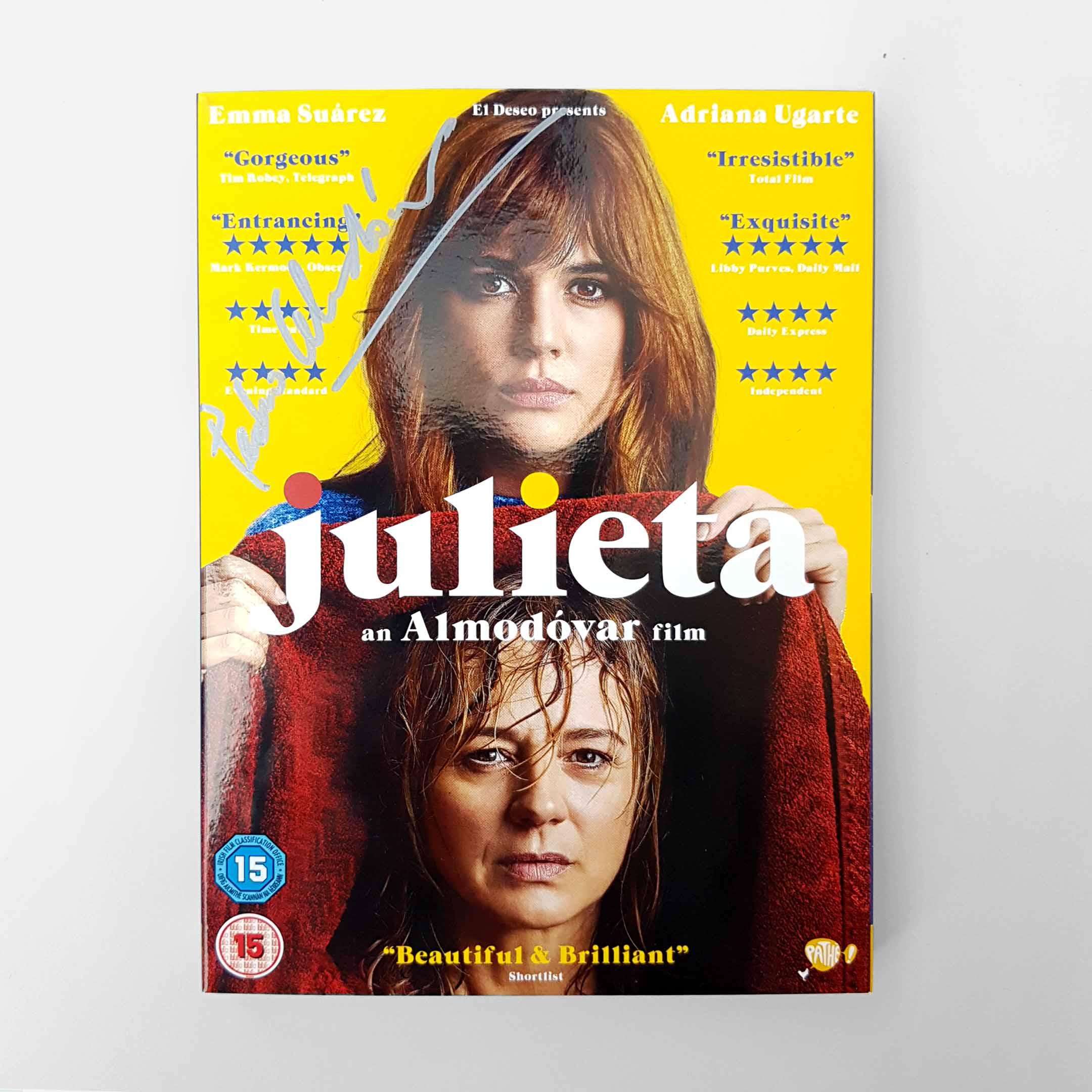 Buy Julieta SIGNED BY PEDRO ALMODOVAR