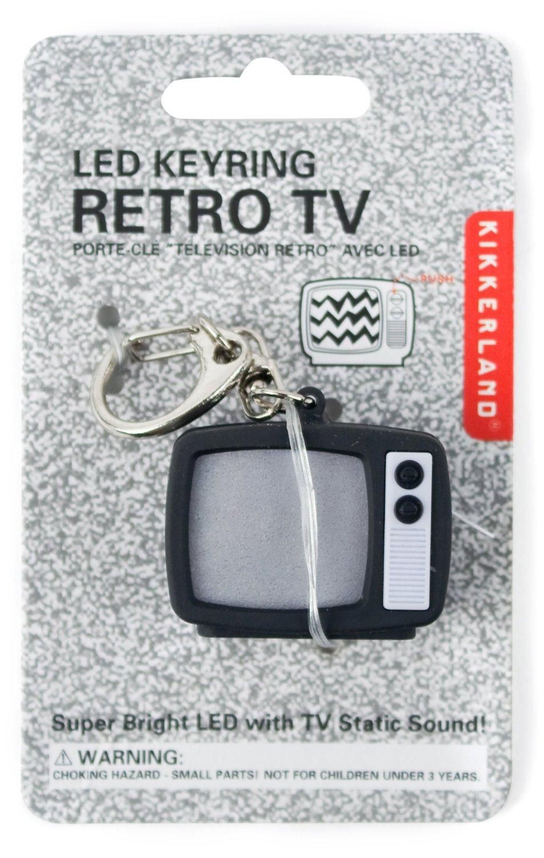 Buy Retro TV keychain