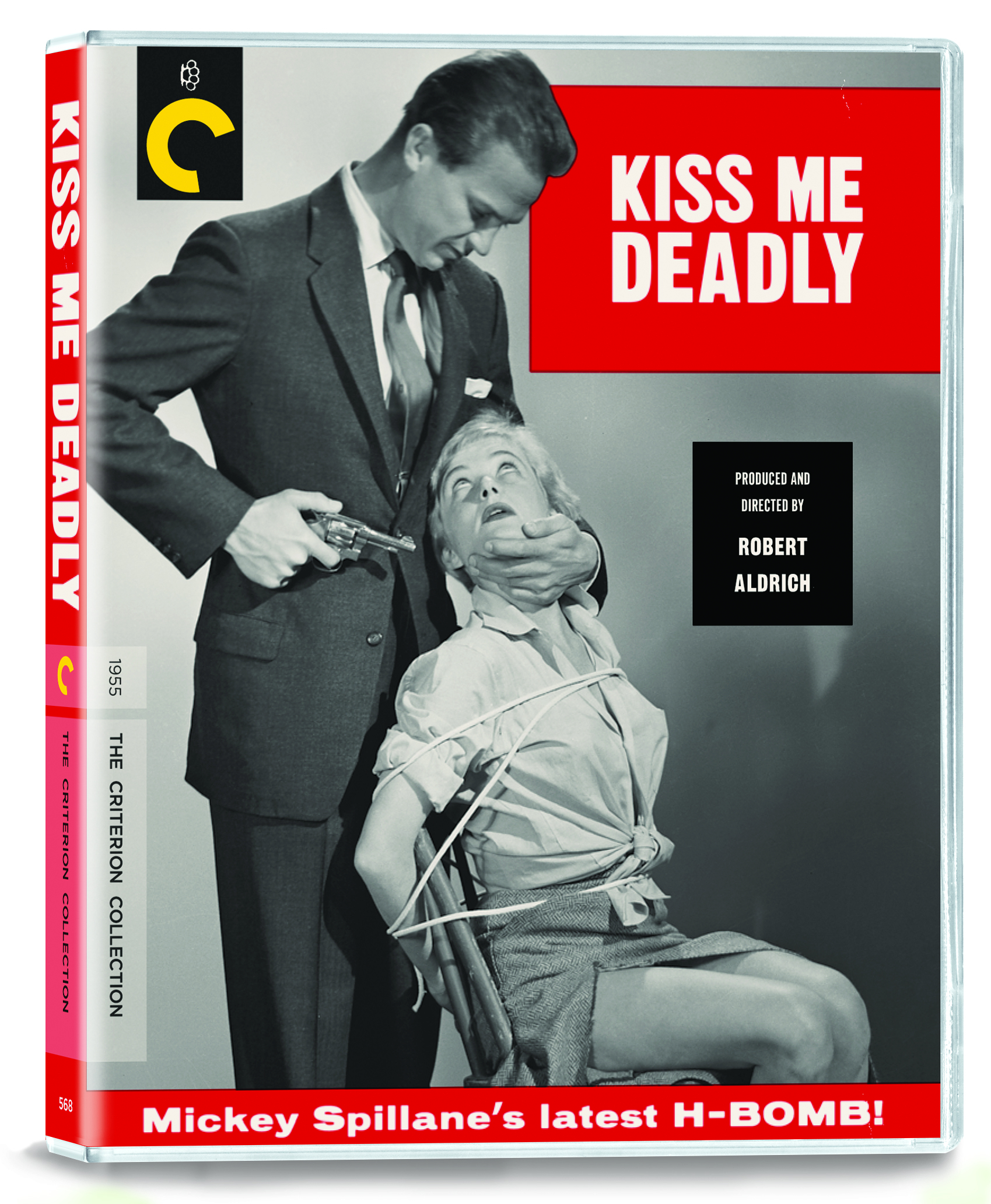 Buy PRE-ORDER Kiss Me Deadly (Blu-ray)