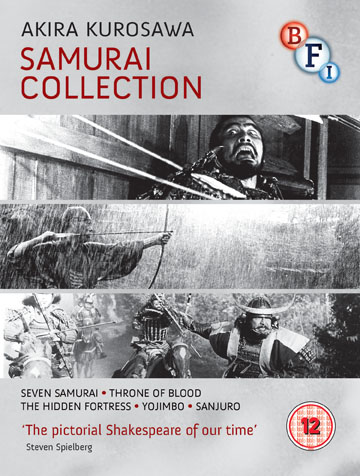 Buy Akira Kurosawa Samurai Collection (Blu-ray)