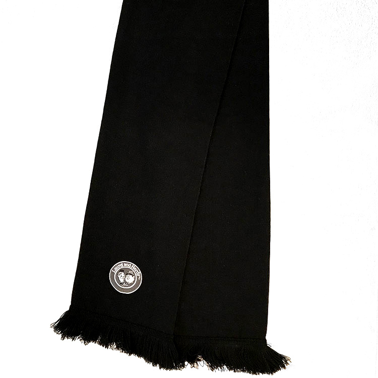 Buy Laurel and Hardy Scarf- Black