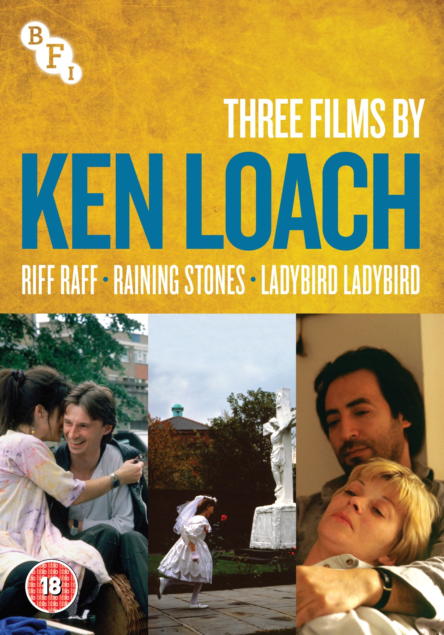Buy Three films by Ken Loach: Riff Raff, Raining Stones, Ladybird Ladybird (DVD)