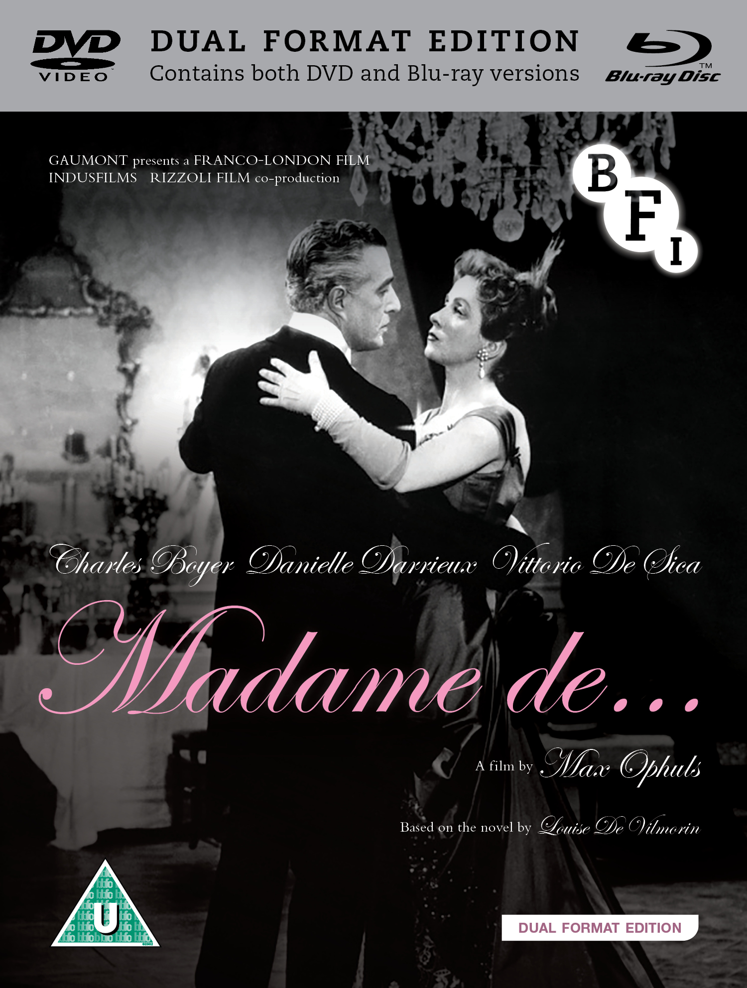Buy Madame de... (Dual Format Edition)