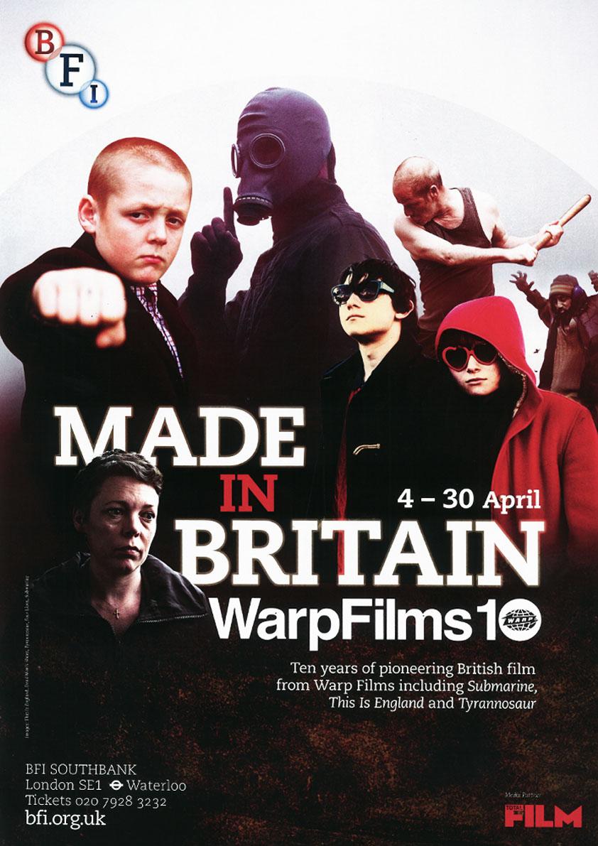 Buy Made in Britain: Warp Films BFI season poster